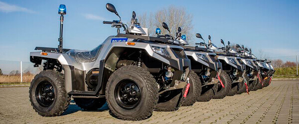 Arctic Cat 450 Alterra for Polish police
