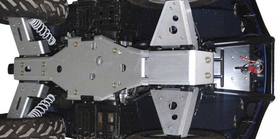 Aluminum Chassis Skid Plates for utility ATV