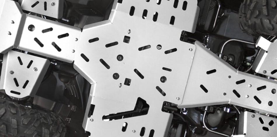 Aluminiowe płyty podwozia