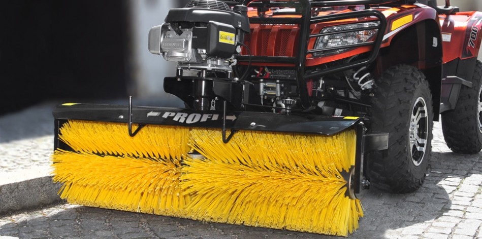 Profesional Sweeping brushes for ATV