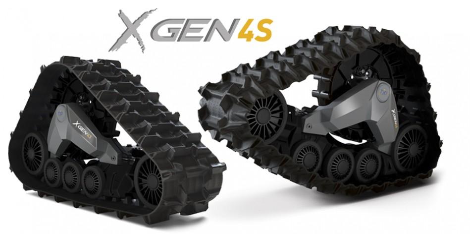 Gąsienice TJD XGEN 4S do pojazdów ATV