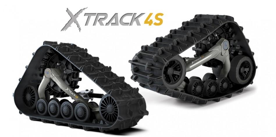 Gąsienice TJD XTRACK 4S do pojazdów UTV