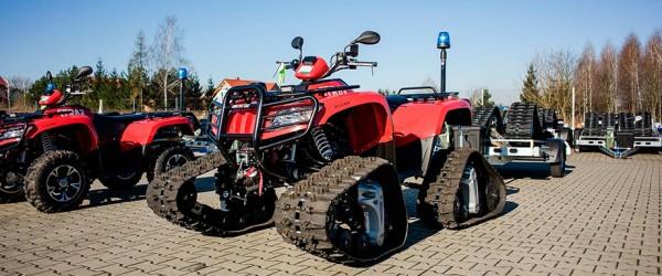 Arctic Cat ATVs w polskiej Straży Pożarnej